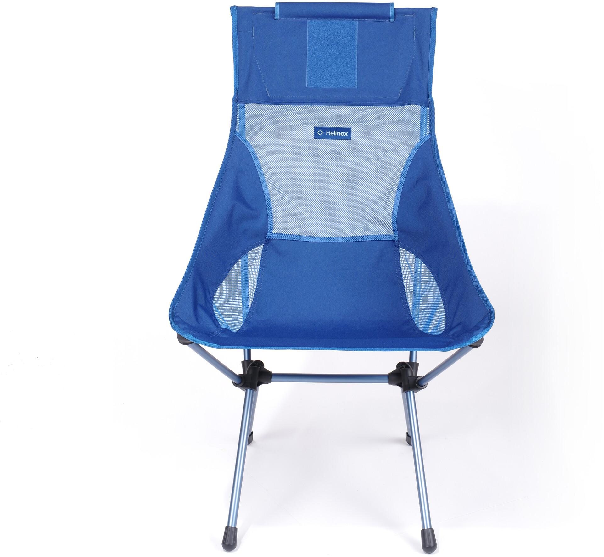 Helinox Sunset Chaise, blue blocknavy